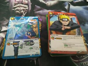 Lote-Cartas-Naruto-Miracle-Battle-Carddass-Card-Game