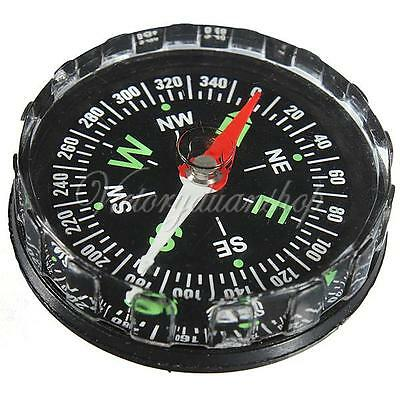 FLUID POCKET MINI COMPASS FOR HIKING ARMY COMBAT SURVIVAL CAMPING OUTDOOR WALKS