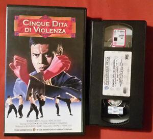 Cinque Dita Di Violenza (1973) - Vhs 1° Ed. Warner Video Texture Nette