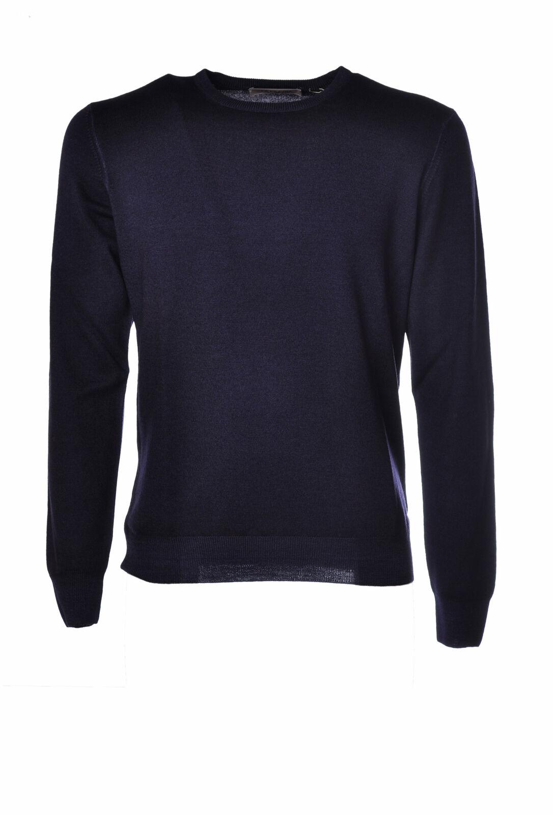 LA FILERIA  -  Sweaters - Male - Blau - 2616029N173615