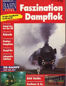 Bahn Extra Faszination Dampflok 2/1991 Bundesbahn Reichsbahn DB DR Gera Nova - Bertsdorf-Hörnitz, Deutschland - Bahn Extra Faszination Dampflok 2/1991 Bundesbahn Reichsbahn DB DR Gera Nova - Bertsdorf-Hörnitz, Deutschland