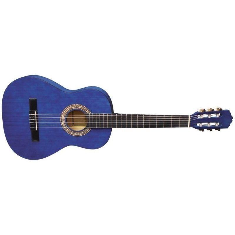 GEWA klassische Gitarre 4 4 Almeria classic blau