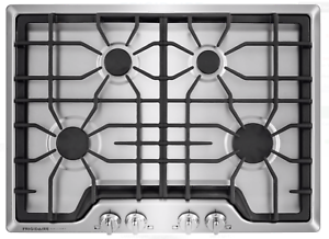Frigidaire-Gallery-FGGC3045QSB-30-4-Burner-Stainless-Steel-Gas-Cooktop-New