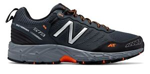 New-Balance-Male-Men-039-s-573-Trail-Mens-Running-Shoes-Training-Grey-With-White