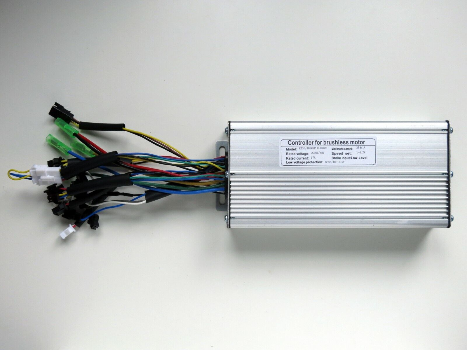 Sensorless Brushless Motor Controller DC 36V 48V 1000-1500W 12-FET 35A KT Square