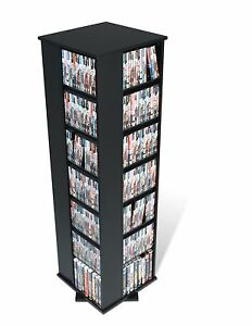 Captivating Image Is Loading 1040 CD 476 DVD Storage Rack Spinning Tower