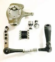 Chevy 10 Bolt Complete 1-ton Crossover High Steer Kit-w/ Knuckle, Ball Joint