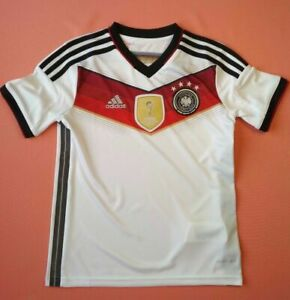 1bbbba010fb Germany 2014 World cup Jersey Kids Shirt Trikot Adidas M35023 DFB ...