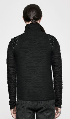 Relief Militaire Baroque Broderies Punkrave Gothique Outlet Homme Pull Sweat twIqnXT