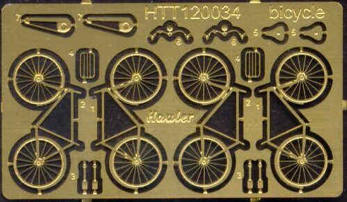 TT-Scale Hauler Models 1//120 BICYCLES Photo Etch Set