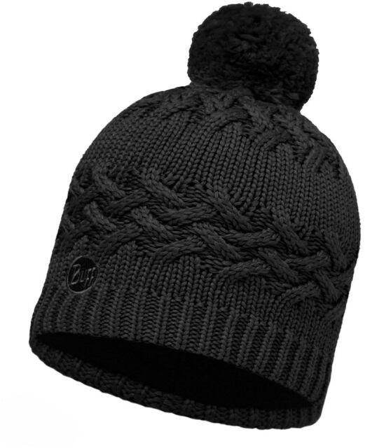 e3e25b03afc Buff Ski Savva Primaloft Knitted Beanie Bobble Hat Black for sale ...