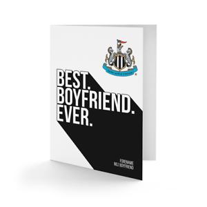 Ordonné Newcastle United F.c - Personnalisé Carte De Vœux (best Ever)-afficher Le Titre D'origine