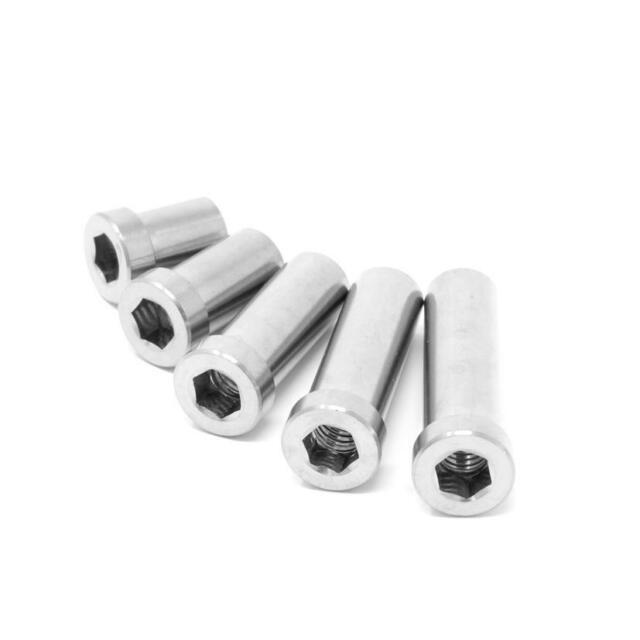 1 Wheels Manufacturing Stainless Steel 30 mm Recessed Brake Nut