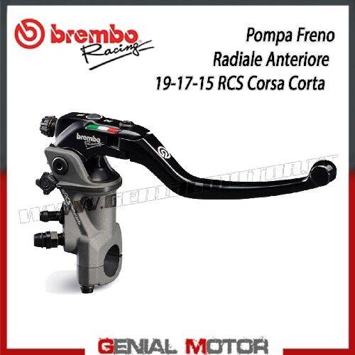 Vorne Radialbremspumpe Brembo Racing 19RCS Kurze Fahrt PR 19x18-20