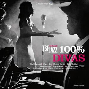 100-DIVAS-COLLECTION-JAZZ-NINA-SIMONE-PEGGY-LEE-DIANA-KRALL-2-VINYL-LP-NEU