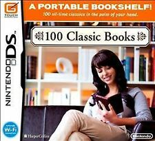 100 Classic Books (Nintendo DS, 2010) Cart only
