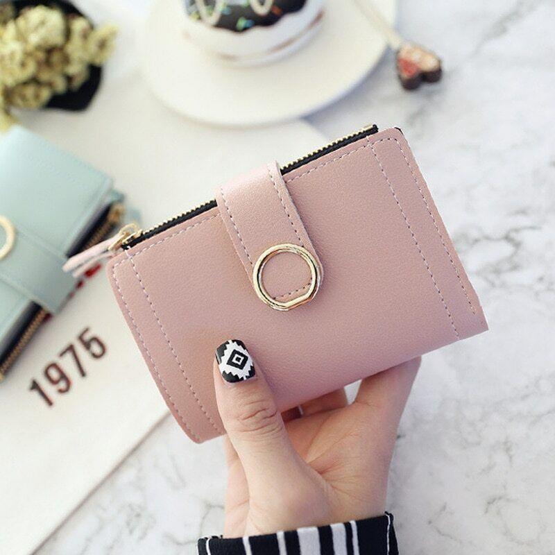 Women Wallets portefeuille en cuir pour femme avec porte-cartes et porte-documen