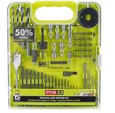 Ryobi Drill and Drive Kit (60-Piece) Titanium-Coated Drill Bit/ Bits