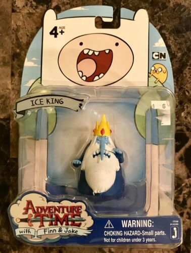 Toy Adventure Time 2 Tall ICE KING Figure Set