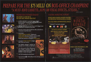 MORTAL KOMBAT__Original 1995 Trade Print AD / ADVERT__ ROBIN SHOU__TALISA SOTO