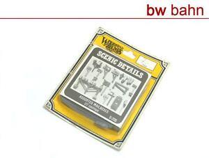 Woodland-Scenic-H0-D206-Bausatz-17-Assorted-Mailboxes-Briefkaesten-Neu-B-WARE