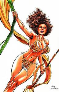 CAVEWOMAN RISING ROB DURHAM SPECIAL EDITION COVER B LIMITED TO 400 COPIES 9/2014