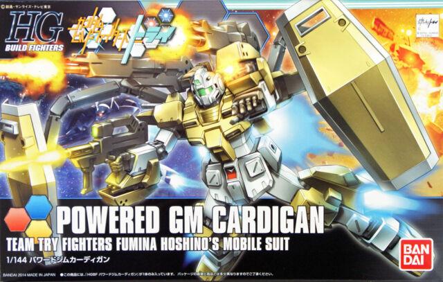 Bandai 1 144 Hg Build Fighters 019 Powered Gm Cardigan Ebay