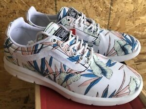 d834cde4d3611e Vans Iso 1.5 Tropical Leaves True White Sz Mens 4   Womens 5.5 NIB ...