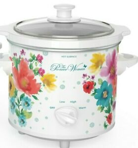 Hamilton Beach NEW Pioneer Woman Breezy Blossom 1.5 Quart Slow Cooker