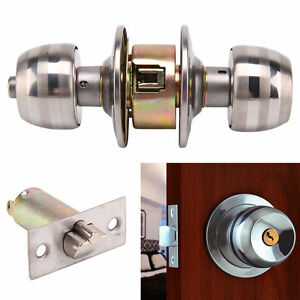 home security door locks. Simple Security Image Is Loading CopperCoreRoundHandlesBallKnobEntranceSecure Throughout Home Security Door Locks 0