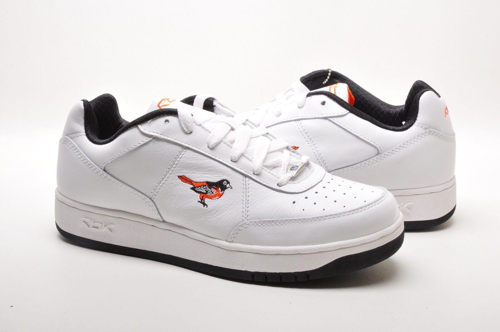La reebok scarpe da uomo mlb circolo esclusivo esclusivo circolo 171486 orioles bianco nero arancione 4bf6a1