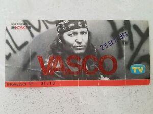 Biglietto concerto Vasco Rossi 25 sett 1993