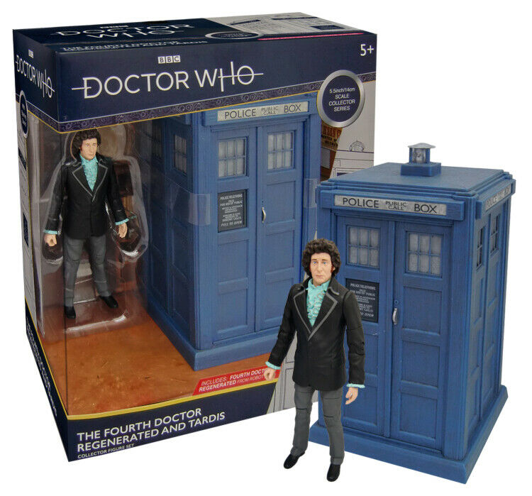 Doctor Who - Regenerated Fourth Doctor and TARDIS (UK (UK (UK Exclusive B&M) 873385