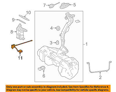 MERCEDES OEM 07-12 GL450 4.6L-V8 Fuel System-Sending Unit Seal Kit 1644700230