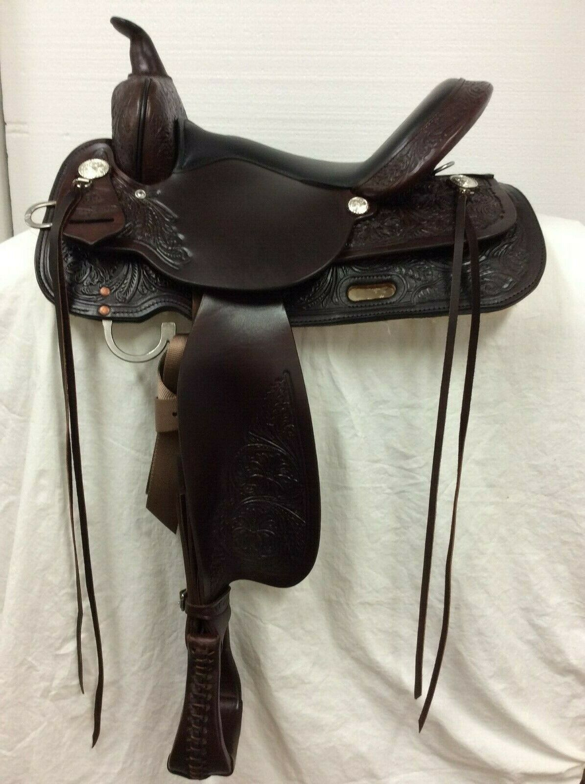 High Horse By Circle Y Mineral Wells 16  Western Trail Saddle