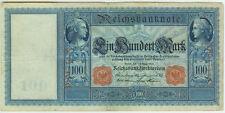 Banknote Deutsches Reich 100 Mark 1908 Ro. 35