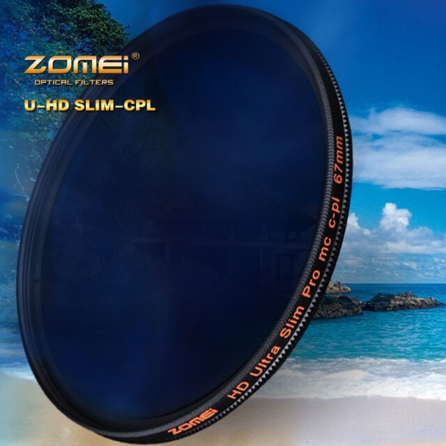 ZOMEI 82mm 18 layer Multi Coated HD Polarizer Slim CPL filter waterproof SHOTT