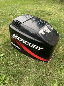 Mercury Optimax Top Cowling Cover Hood 852552A3 115 135 150 175 HP 2.5L