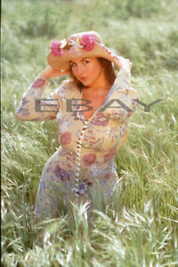 Angelina 35mm Transparency Slide Busty Actress Model Non