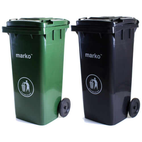 Wheelie Bin 120L//240L Household Council Rubbish Recycling Outdoor Waste Recycle