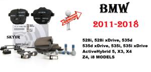 11-18 BMW F10 528i 535d 535i X3 X4 Z4 i8 Rear Brake Pad Set Pads NEW GENUINE
