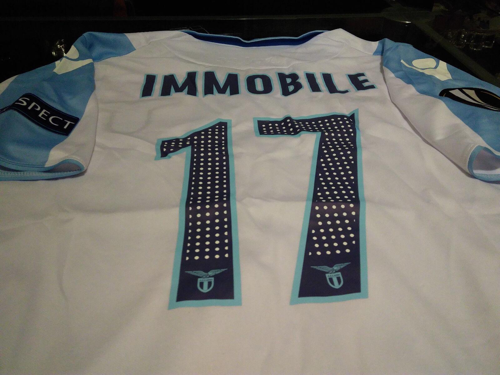 Maglia Lazio  17 Immobile shirt trikot maillot 201718 EUROPA LEAGUE Uefa