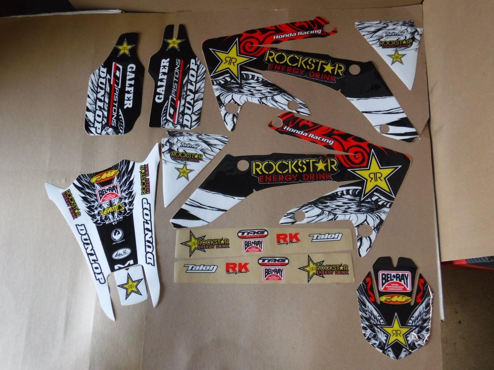 Team Rockstar PTS graphics Honda CRF250X