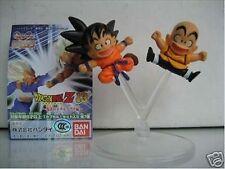 Bandai Dragonball Dragon ball Z HG Gashapon Figure Part 13 Gokou Goku & Krillin