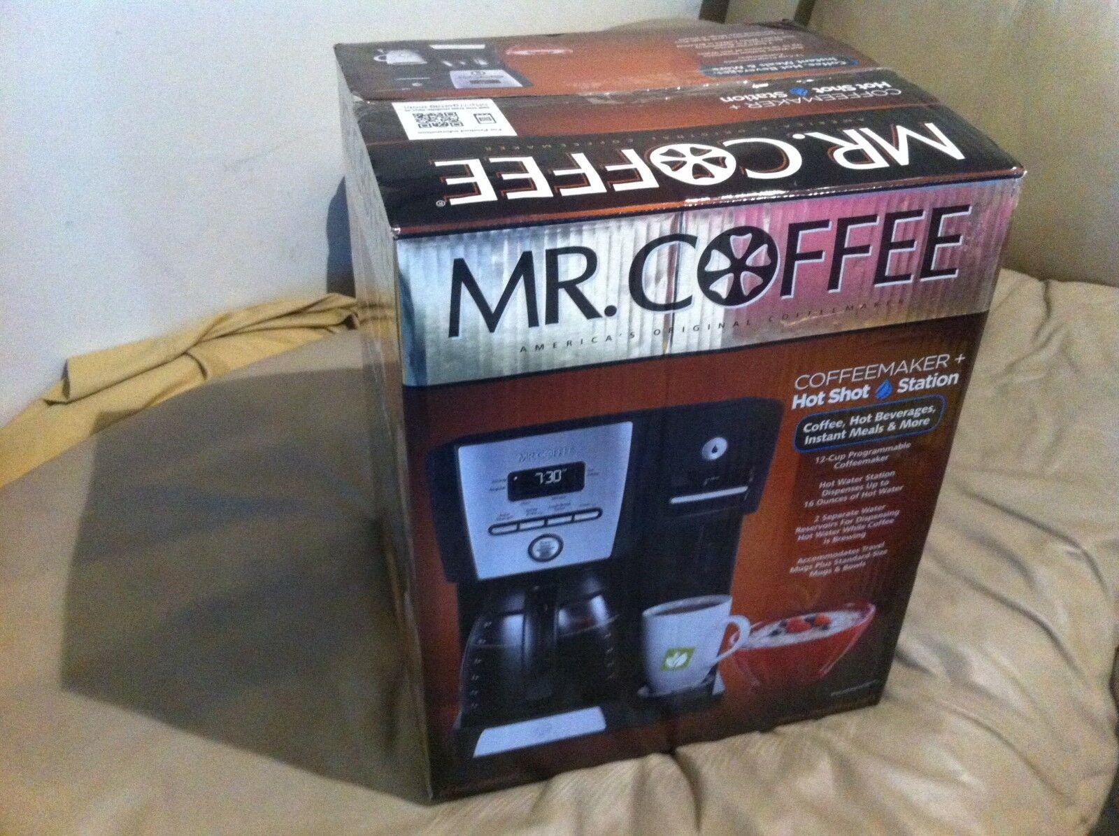 New Mr. Coffee BVMC-DMX85 12-Cup Programmable Coffeemaker & Hot Water Dispenser