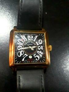 FRANCK-MULLER-Conquistador-Automatic-mans-watch-Leather-Belt-8002SC-117