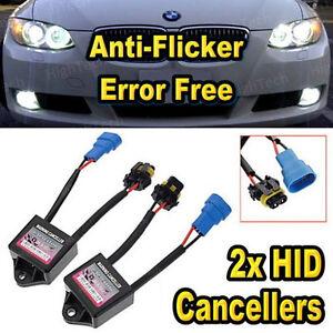 2x-Car-Anti-Flicker-Fix-Warning-Error-Code-HID-Conversion-Kit-Metal-Cancellers