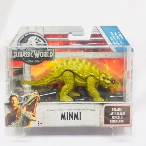 Jurassic World MINMI New Fallen Kingdom Wave 2 Attack Pack Dinosaur Figure