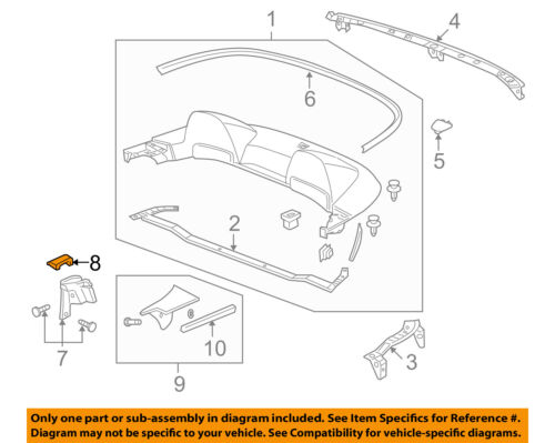 HONDA OEM EXTERIOR TRIM-REAR BODY-Outer Weather Strip Cap Right 72313S2A003
