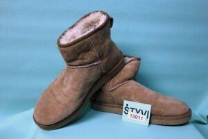 Details zu Orig UGG Stiefel Damen Lamm Fell W10 Gr 41 42 warm Winter Boots Leder TOP